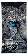 Electric Leopard Beach Towel