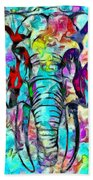 Elefante Beach Towel