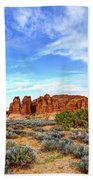 Elephant Butte Beach Towel by Chad Dutson