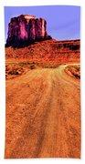 Elephant Butte Monument Valley Navajo Tribal Park Beach Towel