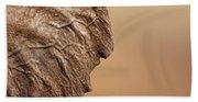 Elephant Ear Close-up Beach Sheet