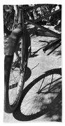Elgin Bicycle Shadow Beach Towel