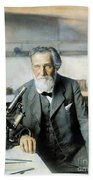 Elie Metchnikoff (1845-1916) Beach Towel