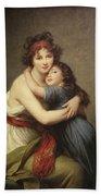 Elisabeth Vigee-lebrun, 1755-1842. Beach Towel