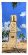Eliza James-mcbean Clock Tower Beach Towel