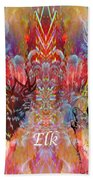 Elk Moon Beach Towel