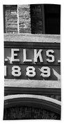 Elks Building 1889 Beach Towel