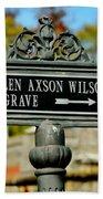 Ellen Axson Wilson Beach Towel