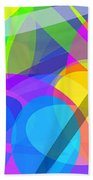 Ellipses 10 Beach Towel