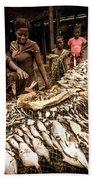 Elmina Fish Sellers Beach Towel