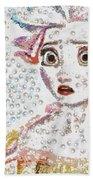 Elsa Art Pearlesqued In Fragments  Beach Towel