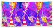 Elvis Presley Jail House Rock 20160520 Horizontal Beach Sheet