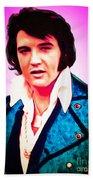 Elvis Presley The King 20160117 Beach Towel