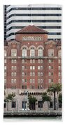 Embarcadero Ymca Building In San Francisco, California Beach Towel