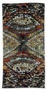 Embellished Texture Beach Towel