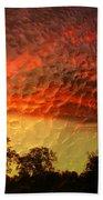 Embossed Sunrise Beach Towel