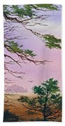 Embrace Of Dawn Beach Towel