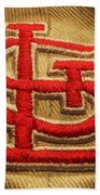Embroidered Stl Beach Towel
