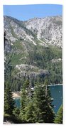 Emerald Bay With Mountain Beach Towel