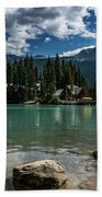 Emerald Lake Beach Towel