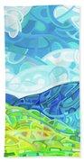 Emerald Moments Beach Towel