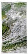 Emerald Storm Beach Towel