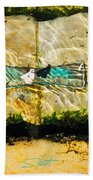 Emerald Tide Beach Towel