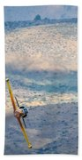 Emerging From The Valley Of Speed 16 X 9 Aspect Signature Edition Beach Towel