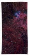 Emission Nebula Ngc 6188 Star Formation Beach Towel