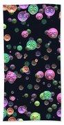 Emoticon Plastic Faces Beach Towel