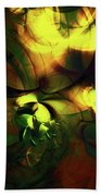 Emotion In Light Abstract Beach Towel