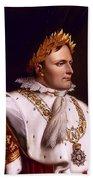 Emperor Napoleon Bonaparte  Beach Towel