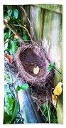 Empty Nest Beach Sheet
