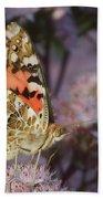 En Garde - Painted Lady - Butterfly Beach Towel