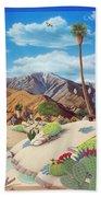 Enchanted Desert Beach Towel