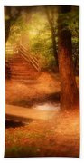 Enchanted Path - Allaire State Park Beach Towel
