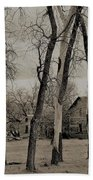 Home In The Wood Beach Towel