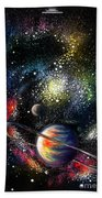Endless Beauty Of The Universe Beach Towel