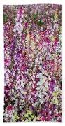 Endless Field Of Flowers Beach Towel