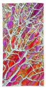Energetic Abstract Beach Towel