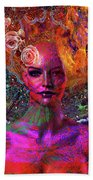 Energy Meridian Beach Towel by Joseph Mosley