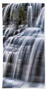 Lower Falls #4 Beach Towel