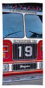 Engine 19 Beach Towel