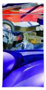 Engine Compartment 11 Beach Towel