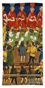 England: Court, 15th Century Beach Sheet
