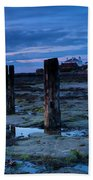 England, Tyne And Wear, St Marys Lighthouse Beach Towel