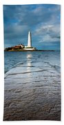 England, Tyne And Wear, Whitley Bay  Beach Towel
