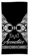 Enne Acoustics Beach Towel