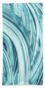 Entranced 1- Abstract Art By Linda Woods Beach Towel