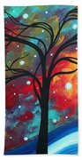 Envision The Beauty By Madart Beach Towel by Megan Duncanson
